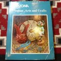 洋古雑誌 「Arizona Highways Art And Crafts」 1976年発行 ハードブックカバー付き洋書