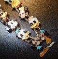 ズニ Paula・Leekity 全身ミッキー&ミニー&ディズニーキャラクター ネックレス約60cm