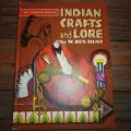 古洋書 「INDIAN・CRAFTS・and・LORE」 1954年発行