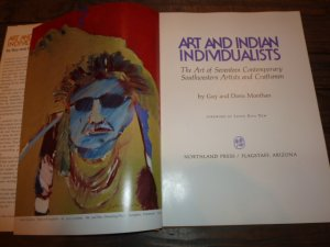 画像3: 古洋書 「ART・AND・INDIAN・INDIVIDUALISTS」 1975年発行