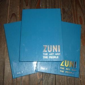 画像1: 古洋書 「ZUNI The Art And The People」全3巻セット 1975〜77年発行