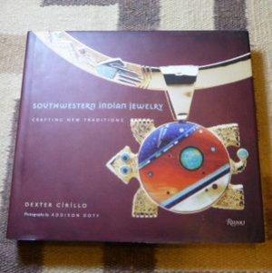 画像1: ギフトアイテム50〜 洋書 「SOUTHWESTERN INDIAN JEWELRY」 2008年発行ハードブックカバー付き