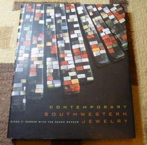 画像1: 古洋書写真集 「CONTEMPORARY SOUTHWESTERN JEWELRY」 2007年発行ハードブックカバー付き