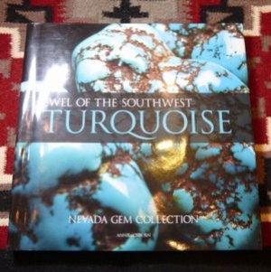 画像1: ギフトアイテム100〜 新品洋書 2012年発行 「JEWEL OF THE SOUTHWEST TURQUOISE」 ハードブックカバー付き洋書