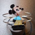ズニ Paula・Leekity インレイ 全身ミッキーマウス バングル約15〜16cm用