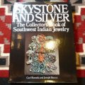 古洋書 「SKYSTONE AND SILVER」 1976or77年発行 ハードブックカバー付き洋書
