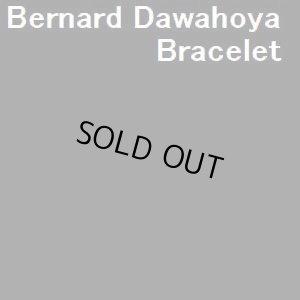 画像1: ホピ Bernard・Dawahoya オーバレイ マッドヘッドダンサー BIGワイズバングル