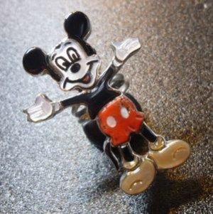 画像1: ズニ Andrea&Shirley・Lonjose 当店指定ポーズ 全身ミッキーマウス リング12号