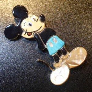 画像1: ズニ Andrea・Lonjose 全身ビッグサイズミッキーマウス ピンブローチ&TOP
