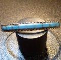 ズニ インレイ ブルーターコイズ バングル約15〜16cm用