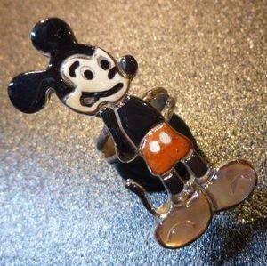 画像1: ズニ Andrea・Lonjose 全身ミッキーマウス リング15・5号