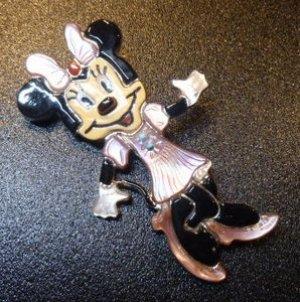 画像1: ズニ Andrea・Lonjose 全身ビッグサイズミニーマウス ピンブローチ&TOP