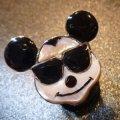 ズニ Don・Dewa インレイ 当店限定 フェイス クールミッキーマウス リング20号