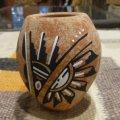 Jamezプエブロ ハンドペイント ポッテリー(陶器)