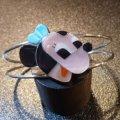 ズニ Paula・Leekity インレイ BIGフェイスミニーマウス バングル約14・5〜16cm用