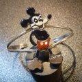 ズニ Andrea・Lonjose インレイ 全身ミッキーマウス バングル約15〜16・5cm用