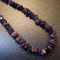 ナバホ ナゲット状スギライト ネックレス約59cm